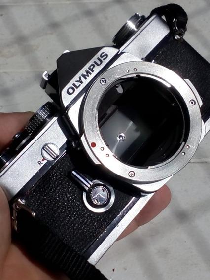 Câmera Fotográfica Analógica Olympus Om-1 Revisada Corpo Somente