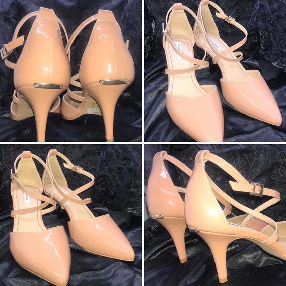 Sapato Morena Rosa, Nude, Número 38