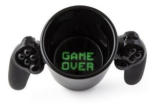 Taza Gamer Negro Game Over