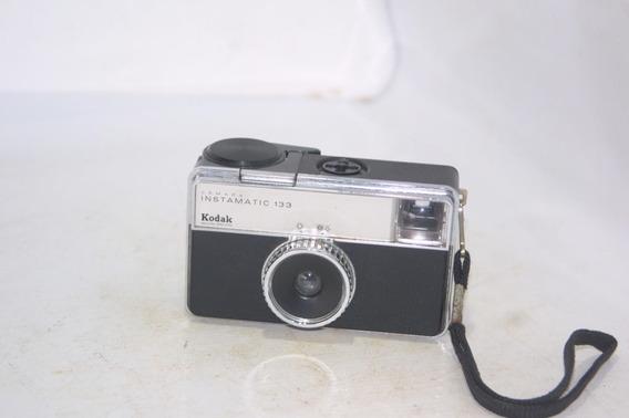 Máquina Fotográfica Kodak Instamatic 133 Anos 70