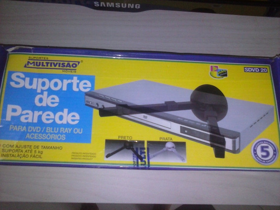 Suporte De Parde Para Dvd/bluray E Acessorios.