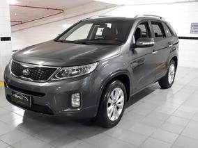 Kia Sorento Ex 2.4 Completo Baixa Km 2014 Cinza