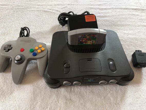 Nintendo 64 N64 Mario Usado Muito Conservado, Leia O Anuncio