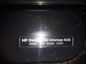 Impressora Multifuncional Hp Ink 4646