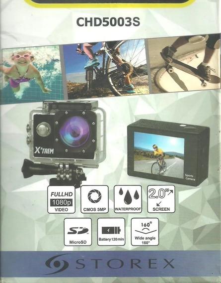 Action Cam Sports Câmera Capacete Prova D