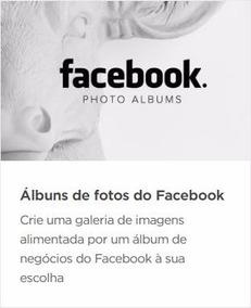 Widget Adobe Muse - Álbum Do Facebook