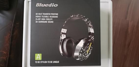 Bluedio A Bluetooth Sem Fio Fone De Ouvido - Preto