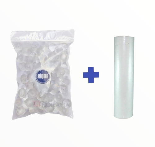 Imagen 1 de 4 de Repuesto Ablandador 1 Kg De Polifosfato Y Polipropileno