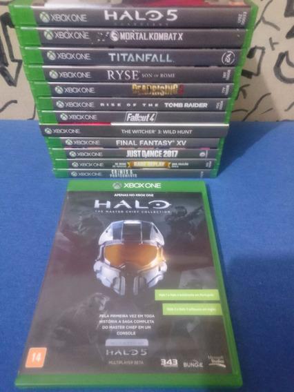 Halo The Master Chief Collection Xbox One Midia Fisica