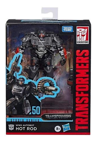 Figura Transformers Studio Series Deluxe Hot Rod - E0701