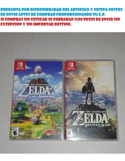 Juegos Nintendo Switch Zelda Skyward Sword, Links Awakening