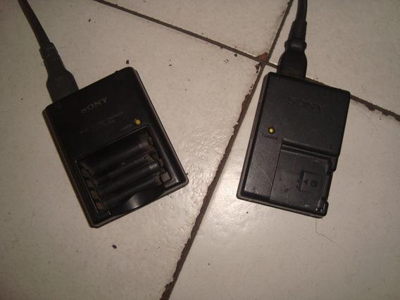 Cargador Marca Sony De Pilas Aa-aaa Y Bateria De Camara