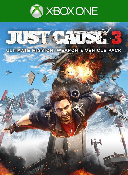 Just Cause 3 - Ultimate Mission, Weapon And Vehicle Pack Dlc