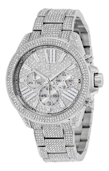 Relógio Feminino Michael Kors Mk6317 Cravejado