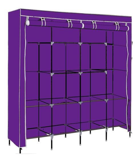 Rack Ropero Organizador Armable Gabinete Closet Grande