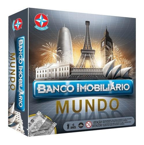 Novo Banco Imobiliário Mundo - Estrela