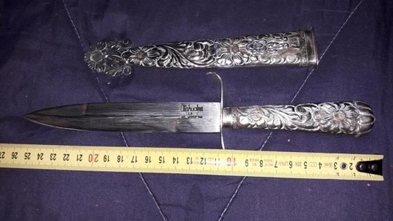 Cuchillo Puñal Antiguo Atahualpa Alpaca 16 Cm