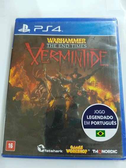 Warhammer The End Times Vermintide Midia Fisica Ps4 Lacrado