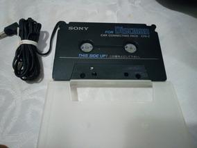 Adaptador Cassete Player Sony Cpa-2 Usado Frete Gratis