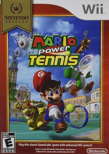 Juego Nintendo Wii Mario Power Tennis - Factura A / B