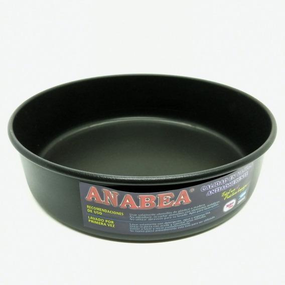 Tortera De Teflón Anabea Nro 26 X 7 Cm De Altura Ind. Arg.