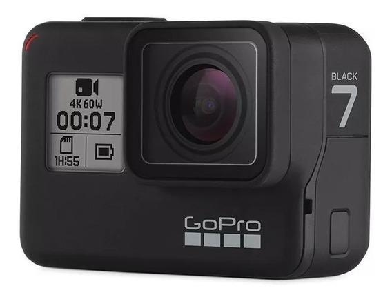 Câmera Digital Gopro Hero 7 Black 12mp Gravação 4k60 Go Pro