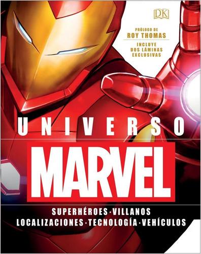 Imagen 1 de 1 de  Universo Marvel  (libro  Tapa  Dura,  Con Estuche)