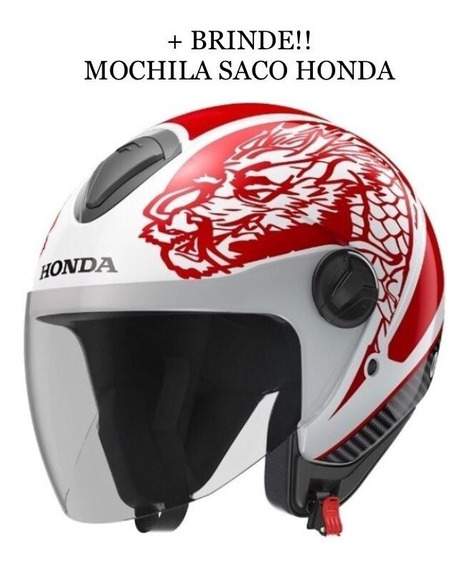 Capacete Honda Hnj Dragon - Ed. Limitada Tatoo