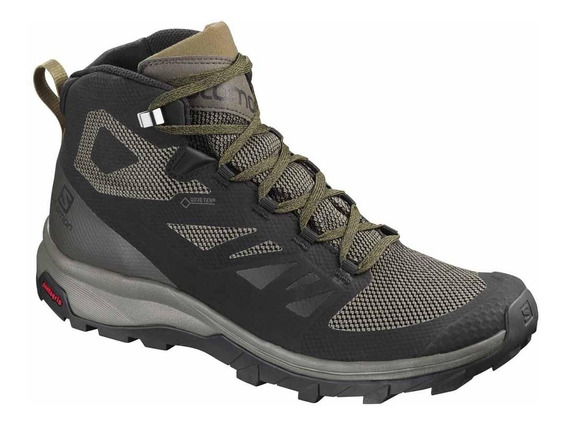 Botas Salomon Outline Mid Gtx Gore-tex Impermeables