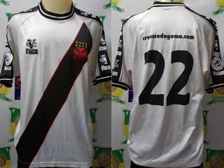 Camisa Futebol Vasco Vg 2002 Rj/sp # 22 De Jogo C/site Crvg