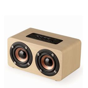 Caixa De Som Bluetooth - Madeira
