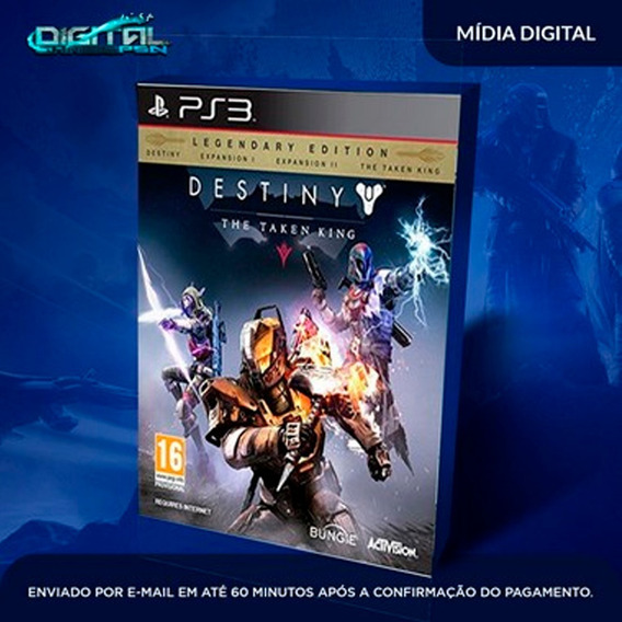 Destiny The Taken King Ps3 Psn Mídia Digital Envio Já!