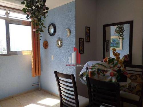 Apartamento Com 2 Dormitórios À Venda, 60 M² Por R$ 370.800,00 - Luz - São Paulo/sp - Ap1012