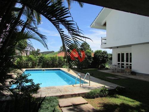 Imagem 1 de 30 de Casa Com 4 Dormitórios À Venda, 592 M² Por R$ 4.300.000,00 - Alphaville - Barueri/sp - Ca1034