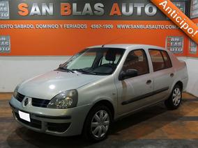 Sba Anticipo! Renault Clio Diesel 1.5 2008 Tric Pack Aa 4p