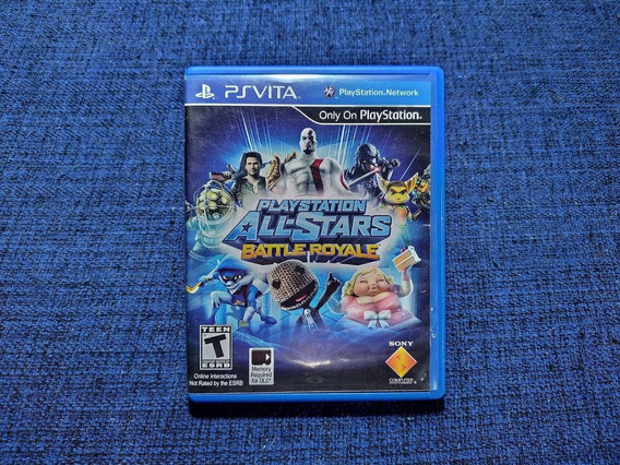 Playstation All-stars Battle Royale Ps Vita Psvita Mídia Física