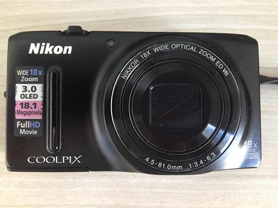 Câmera Nikon Coolpix S9400