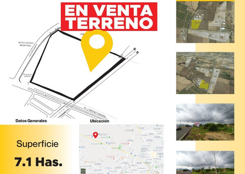 Imagen 1 de 7 de Terreno En Venta A Borde De Carretera