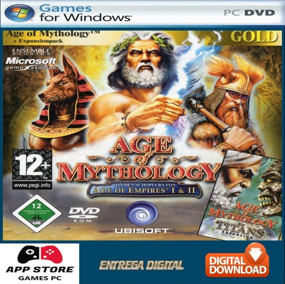 Age Of Mythology Gold Edition - Pc Digital Completo