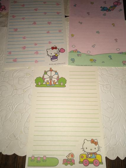 Papel Carta Hello Kitty Retro Vintage