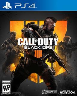 Call Of Duty Black Ops 4 Ps4 / Playstation 4 Juego Usado