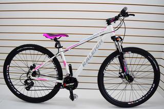 Bicicleta Raleigh 2.0 Dama Rodado 29 21v Frenos A Disco