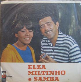 Elza Miltinho E Samba 1967 Mono Capa Sanduiche W