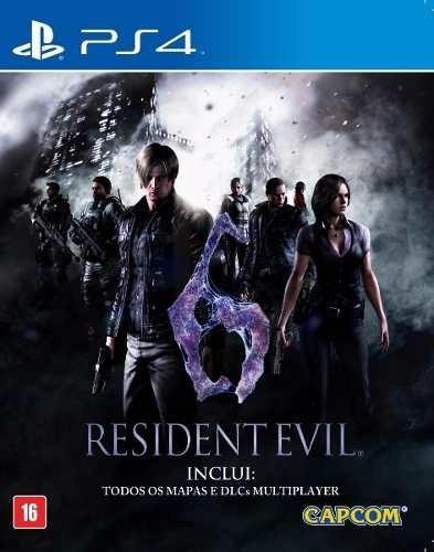 Jogo Resident Evil 6 Playstation 4 Ps4 Novo E Lacrado