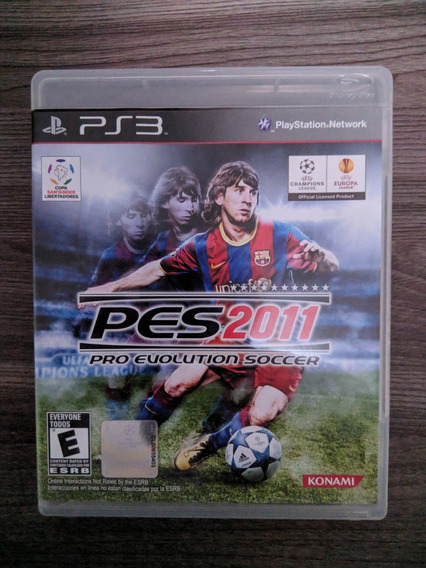 Pro Evolution Soccer Pes 2011 - Ps3
