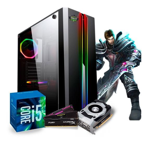 Pc Gamer I5 7500 (geforce Gtx 1050 Ti 4gb) 8gb / Ssd 240
