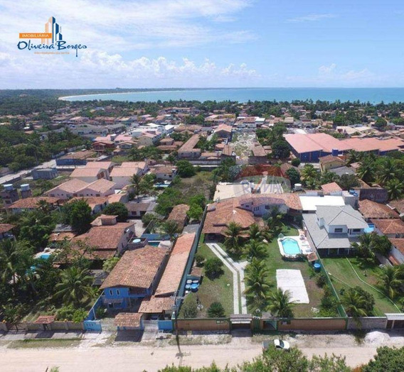 Casa Com 5 Dormitórios À Venda, 600 M² Por R$ 1.300.000,00 - Santa Cruz De Cabrália - Santa Cruz Cabrália/ba - Ca0981