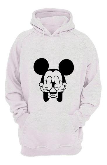 Moletom Masculino Feminino Mickey Blusa De Frio Canguru