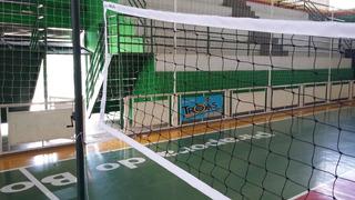 Rede Voleibol Emborrachada Modelo Oficial 4 Lonas Seda