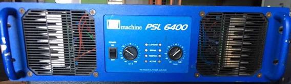 Amplificador De Potência Machine Psl6400